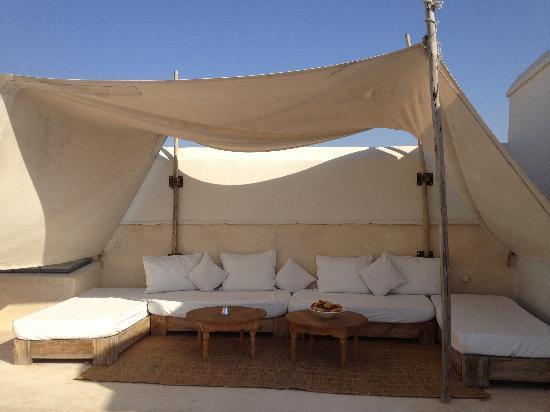 Riad Dar-K: La terrasse