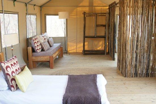 Miombo Safari Camp: Inside the New Standard Tent