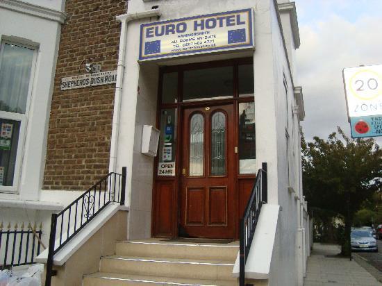 Euro Hotel Hammersmith: Euro hôtel