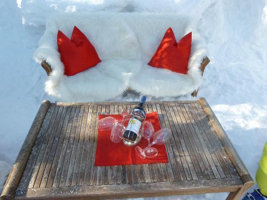 Hotel Villa Licht: jardin hivernal exterieur