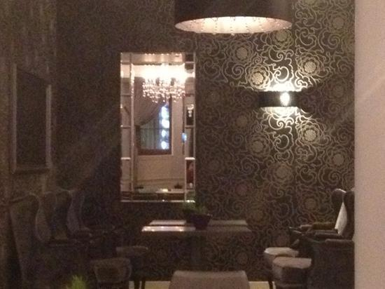 Arbat Hotel: gezellig zit gedeelte