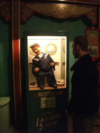 Wookey Hole Old Penny Pier Arcade: penny arcade