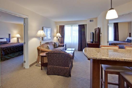 Two Bedroom Suite Foto De Staybridge Suites Indianapolis Carmel Carmel Tripadvisor