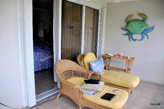 Ocean Club West: porch