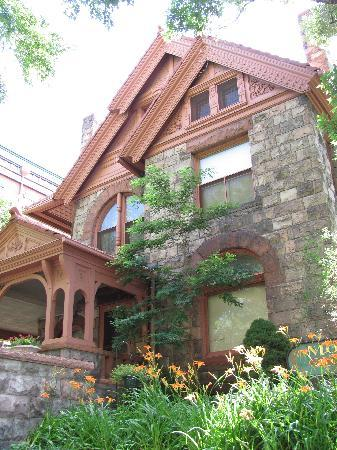 Molly Brown House Museum : Exterior of the Molly Brown House.
