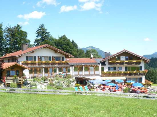 Ofterschwang, Germany: Landhotel Alphorn Front