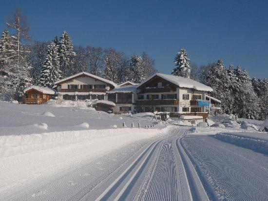 Ofterschwang, Germany: Wintertraum mit Loipe