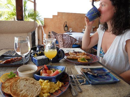 Little Arches Boutique Hotel: Brakfast at Cafe Luna