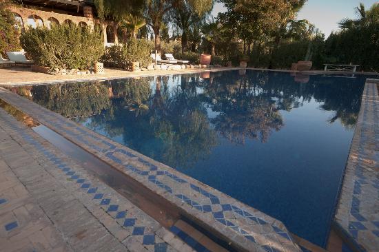 Villa Vanille: Une des deux piscines