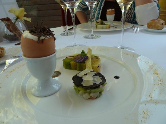 Mini desserts photo de le jardin des sens montpellier for Le jardin des sens