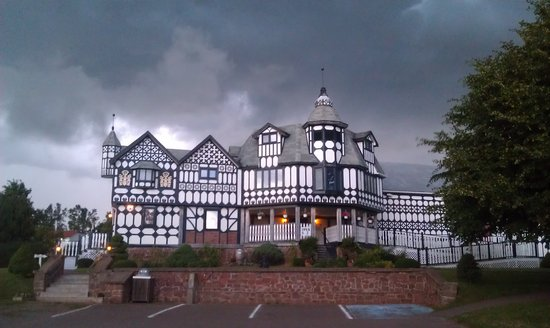 Haunted Mansion: It was a dark & stormy night....
