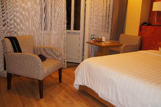 Hanoi A1 Hotel: lekkere stoeltjes