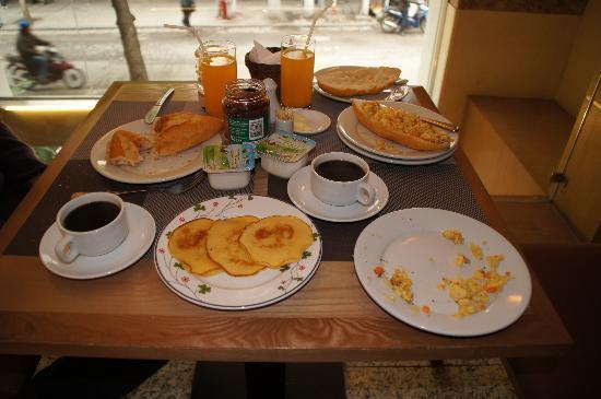 Hanoi A1 Hotel: heerlijk ontbijt