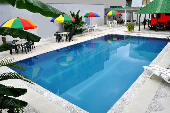 Hotel Amazonas Real : piscina hotelñ