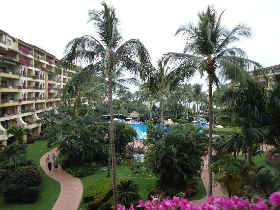 Velas Vallarta: Our 4th floor view