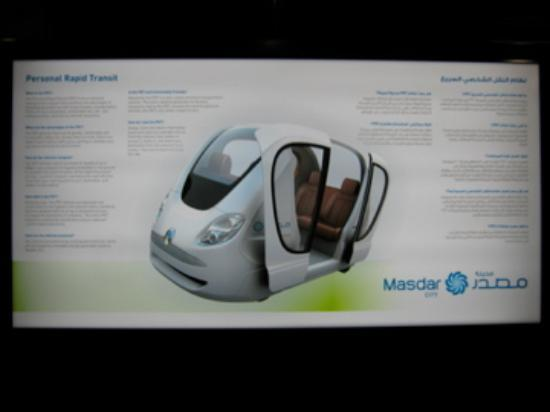 Masdar City : Personal Rapid Transit, The Pod