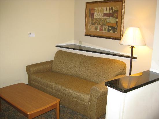 Comfort Suites Valdosta: Seperat sitting area