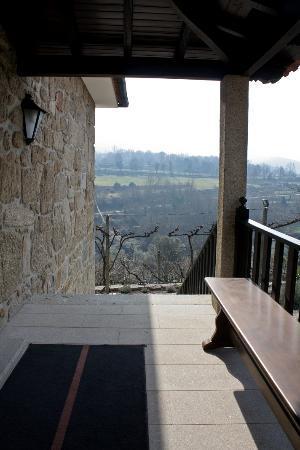 Quinta De Pais - Turismo Rural: Porche del piso superior