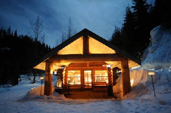 Our remote backcountry cabin join us for the most unique for Cabine in whistler