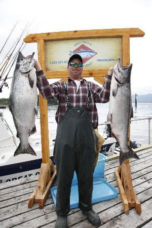 Πρινς Ρούπερτ, Καναδάς: Great Pacific Salmon Lodge, Prince Rupert's ONLY Salmon Lodge.