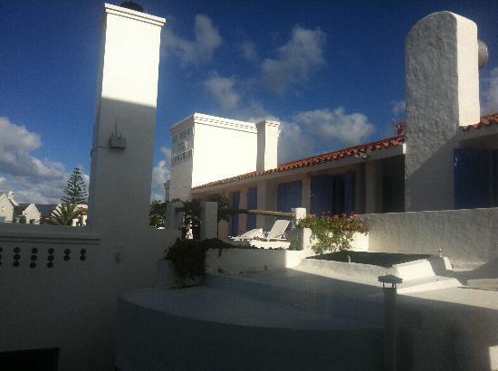La Posta Del Cangrejo: La Posta del Congrejo entrance