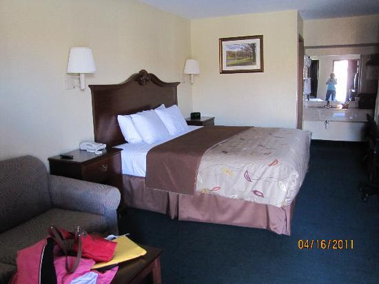 Econo Lodge : Our room
