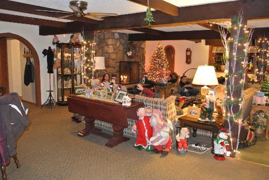 Olympia Lodge: Christmas at Olympia.