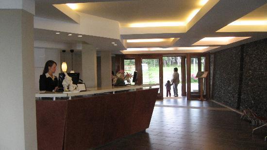 Hotel Las Lengas: La réception