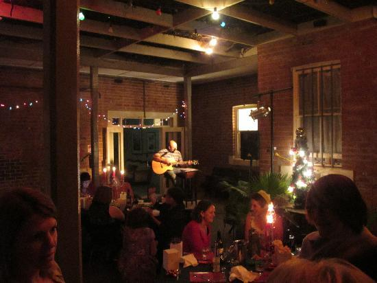 The Playhouse Hotel: Party in the courtyard