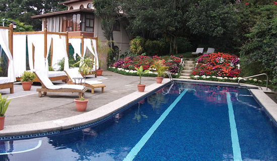 Hotel Desire Costa Rica : Hotel Estate Mansion & Upper Pool