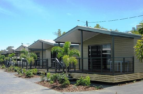 Caloundra Waterfront Holiday Park - Cabins