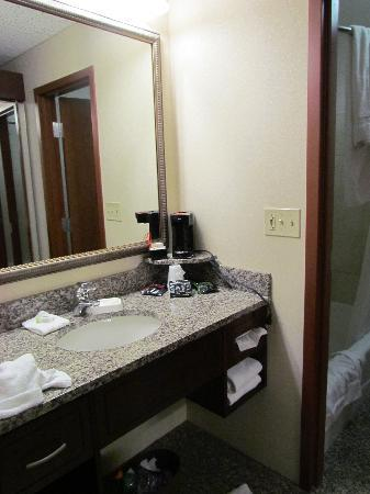Drury Plaza Hotel St. Louis Chesterfield: bathroom