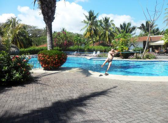 Hotel Villas Playa Samara: Der Sprung in den Pool