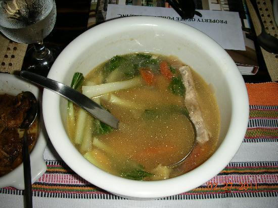 Abaseria Cafe and Deli: fish in miso soup