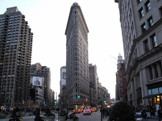 New York City, NY: Flat Iron building