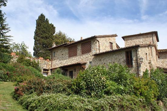 Panzano in Chianti, Italy: The Villa Pecille