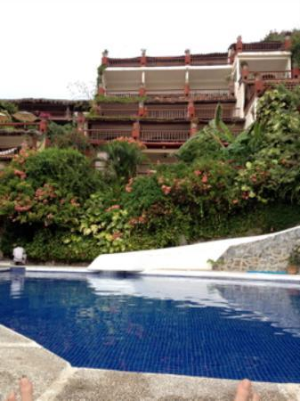 Aura del Mar Hotel: Our room from the pool.