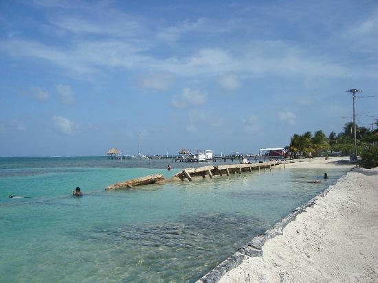 Caye Caulker, Belize: desde el bar