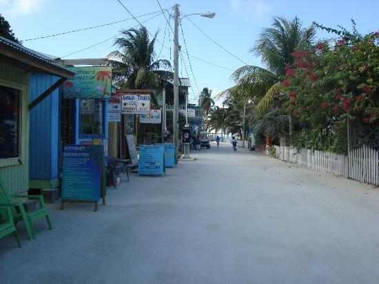Caye Caulker, Belize: calle