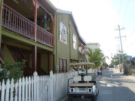 San Pedro, Belize: casa típica