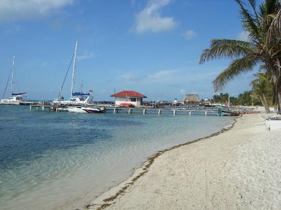 San Pedro, Belize: muelles privados