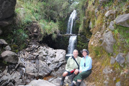 The Secret Garden Cotopaxi: waterfall hike