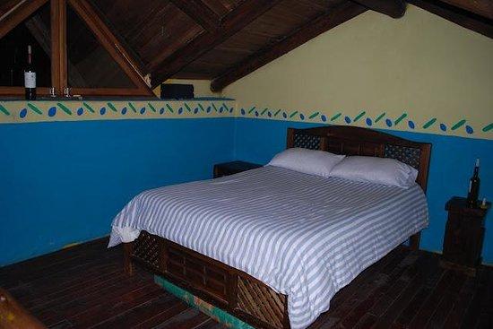 The Secret Garden Cotopaxi: King size bed