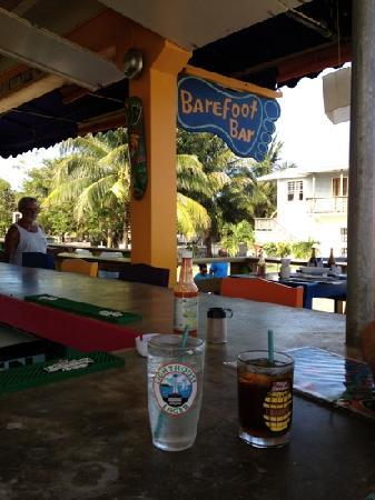Barefoot Bar: try the crazy coconut!