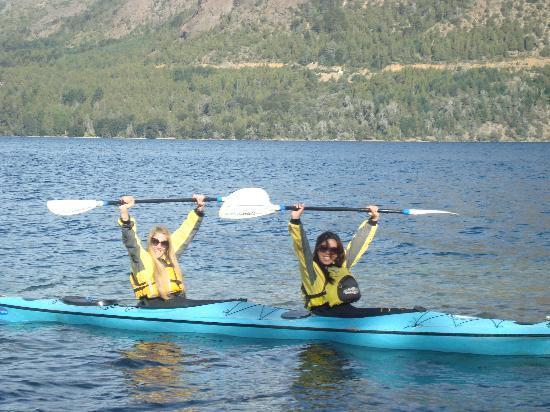 Cuadrante Sur Kayak Bariloche: En el Lago Gutierrez