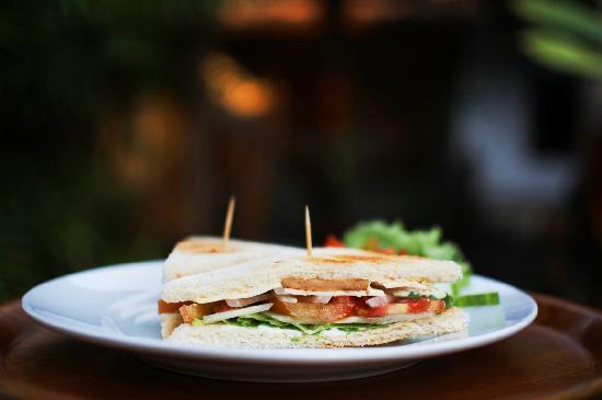 Aura Spa: Sandwich Brunch
