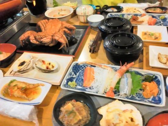 Kitami, Japón: 夕食の一部です