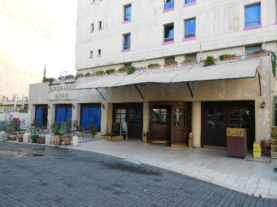 Jerusalem Gold Hotel: Hotel main entrance