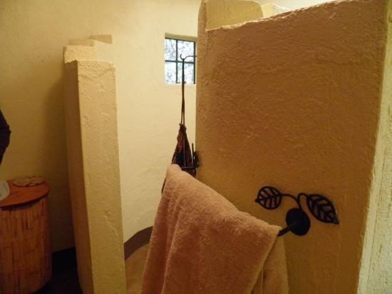 Octagon Lodge: Bathroom