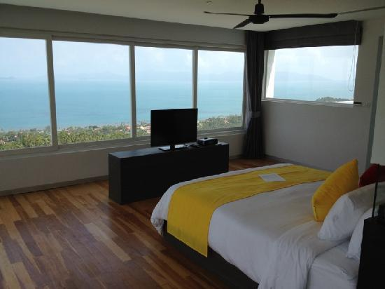 Infinity Residences & Resort Koh Samui: View from my Room